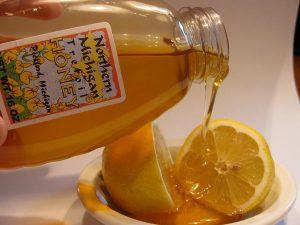 Lemon-honey-lip-serum