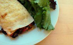 Receita mexicana Lasanha com Tortillas Vegetariana