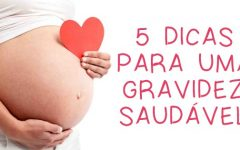 5 Dicas para manter uma gravidez saudável