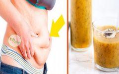 Beba Isso Por 3 Dias e o Excesso de Gordura da sua Barriga Vai Derreter!
