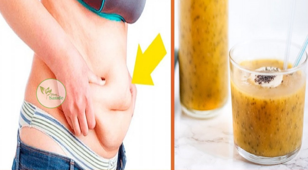 Beba Isso Por 3 Dias e o Excesso de Gordura da sua Barriga Vai Derreter