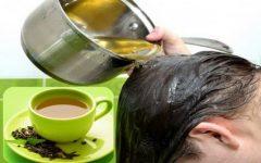Como Usar o Chá Verde Para Lavar o Cabelo?