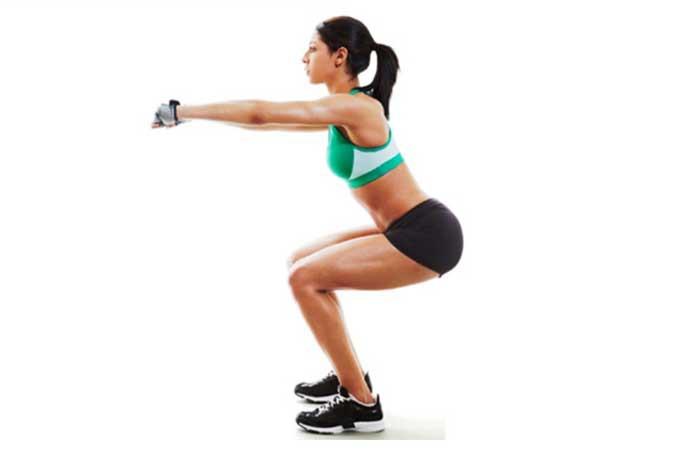 exercicio agachamento