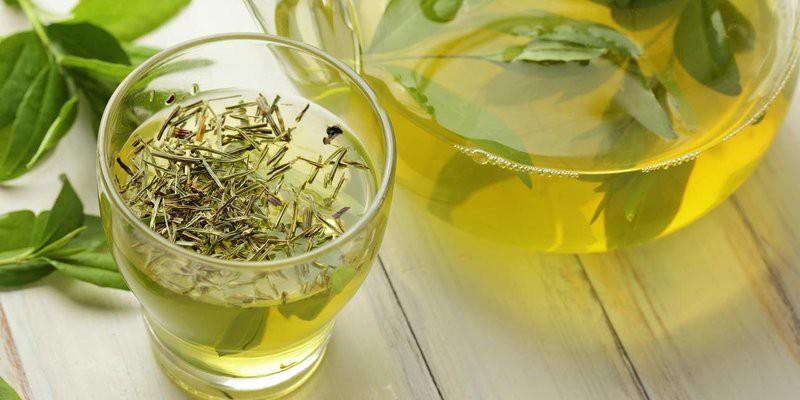receita caseira do Chá Verde Para Lavar o Cabelo