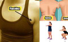 Elimine A Gordura Nas Costas E Flacidez Nas Axilas Com 4 Exercícios Rápidos!