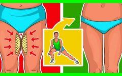 Os 10 Exercícios Para Perder Gordura Interna da Coxa Rapidamente!