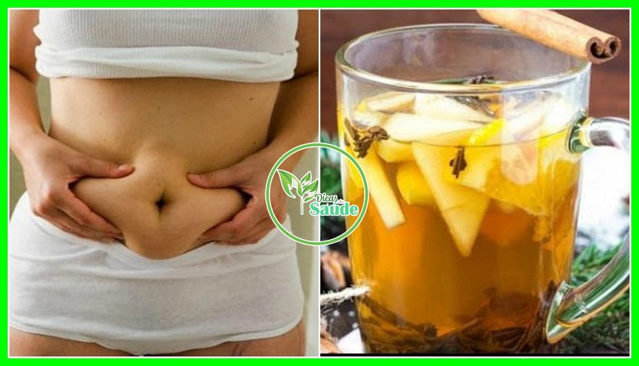Água Detox de Canela, Maçã e Limão Água Para Perder Peso