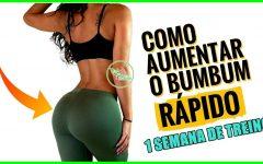 12 Exercícios Para Tonificar Bumbum e Pernas em 1 Semana!