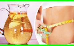 Água Detox de Canela, Maçã e Limão Água Para Perder Peso!