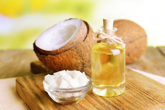 oleo de coco para o cabelo
