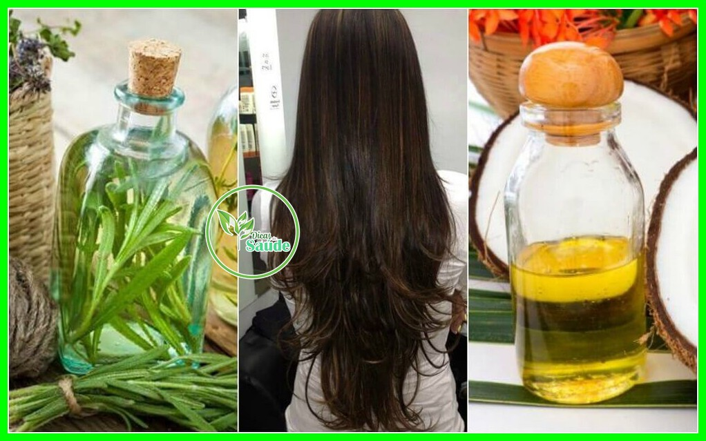 oleos para os cabelos
