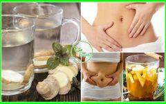 Bebida Caseira de Gengibre Com Água Para Secar a Gordura da Cintura!