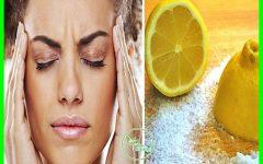Veja Como Você Pode Aliviar a Dor de Cabeça em 3 Minutos Com 1 Limão!